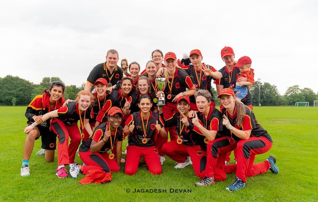 Germany Women's Cricket Team beat France 5-0 in T20i Series. PC: Cricket Germany (@Cricket_Germany) | Twitter
