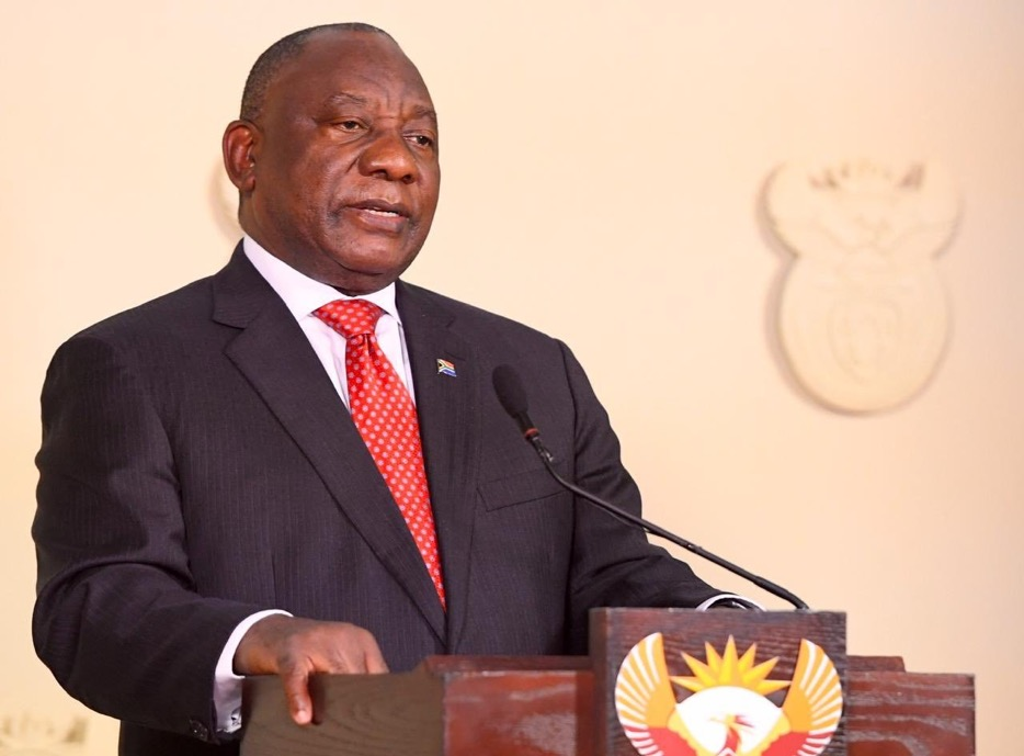 Sabc 2 S Tweet Just In President Cyril Ramaphosa Will Address The Nation Tonight At 20 00 Catch The Broadcast Live On Sabc2 Trendsmap