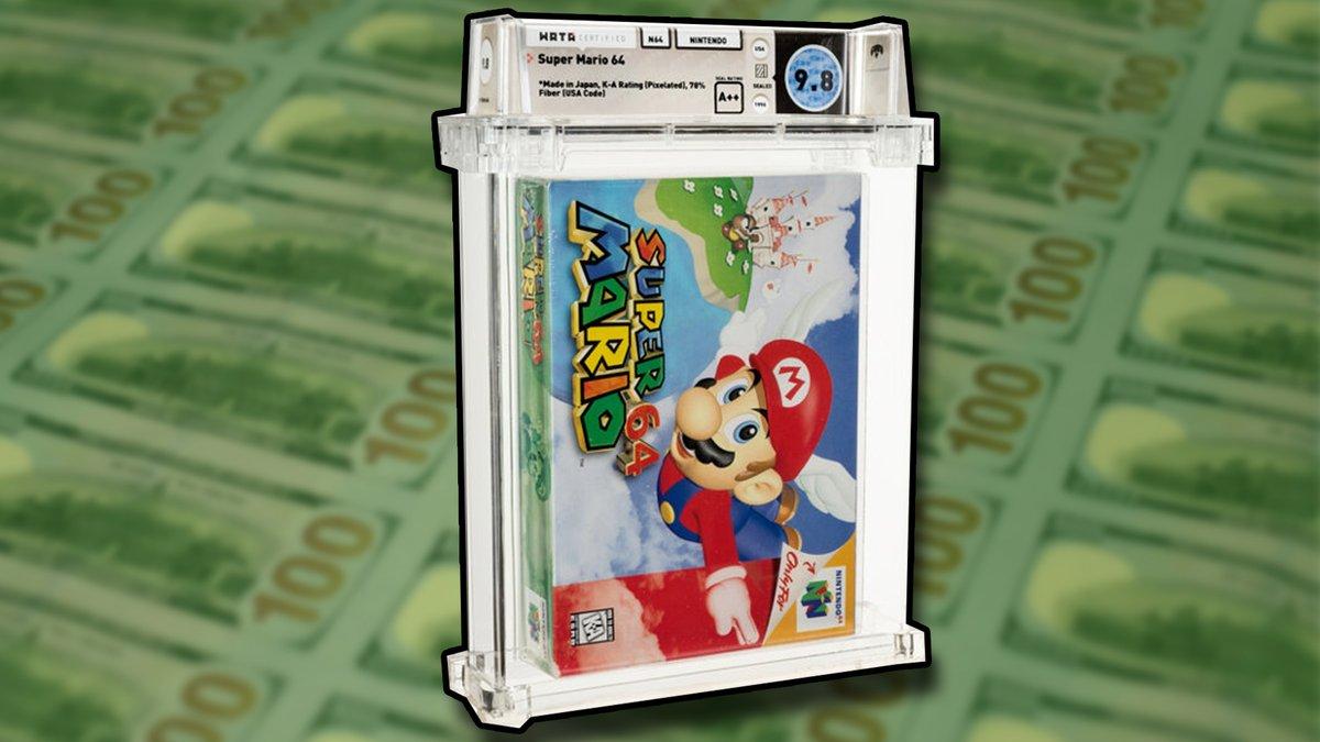 @Kotaku's photo on Super Mario 64