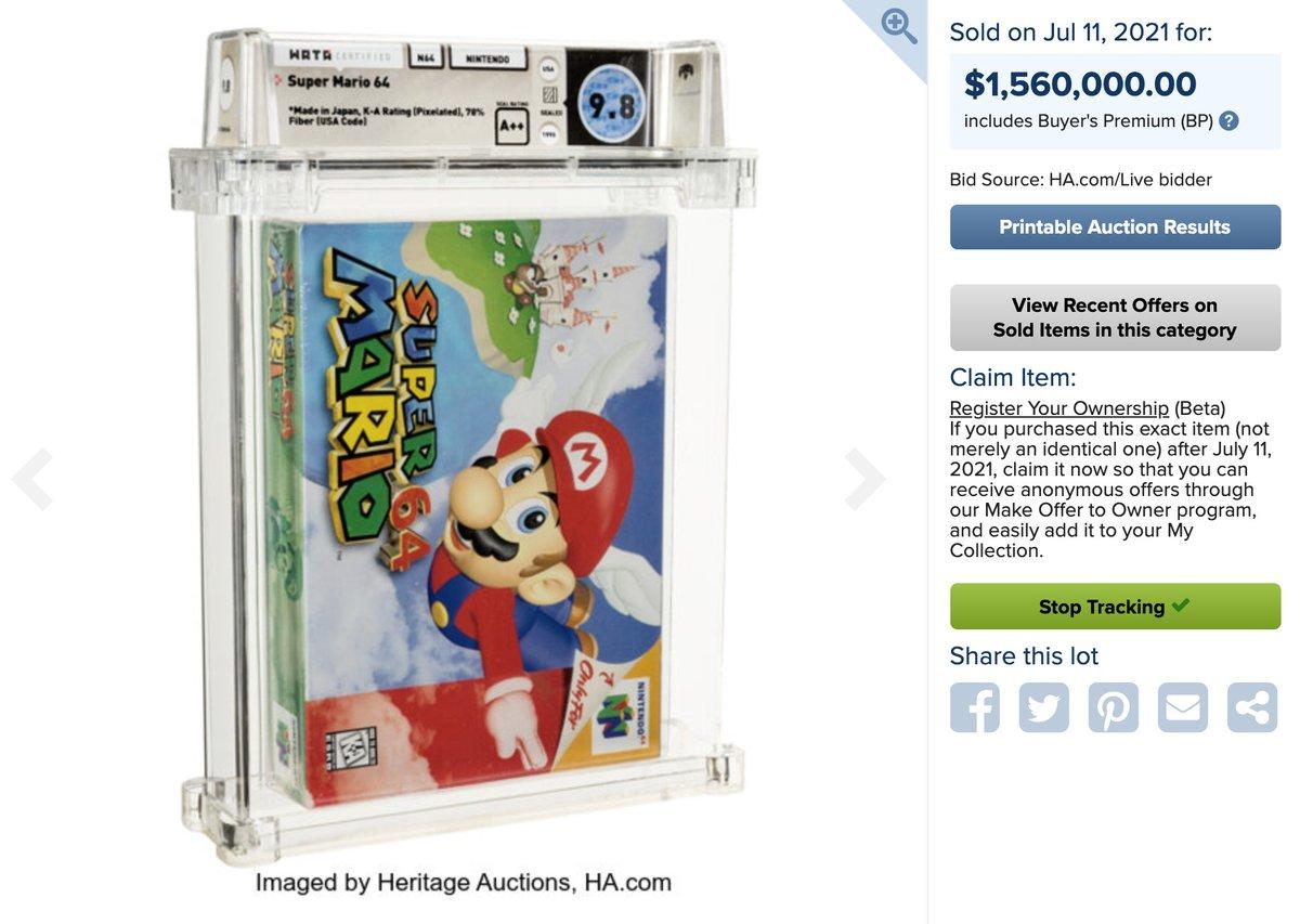 @verge's photo on Super Mario 64