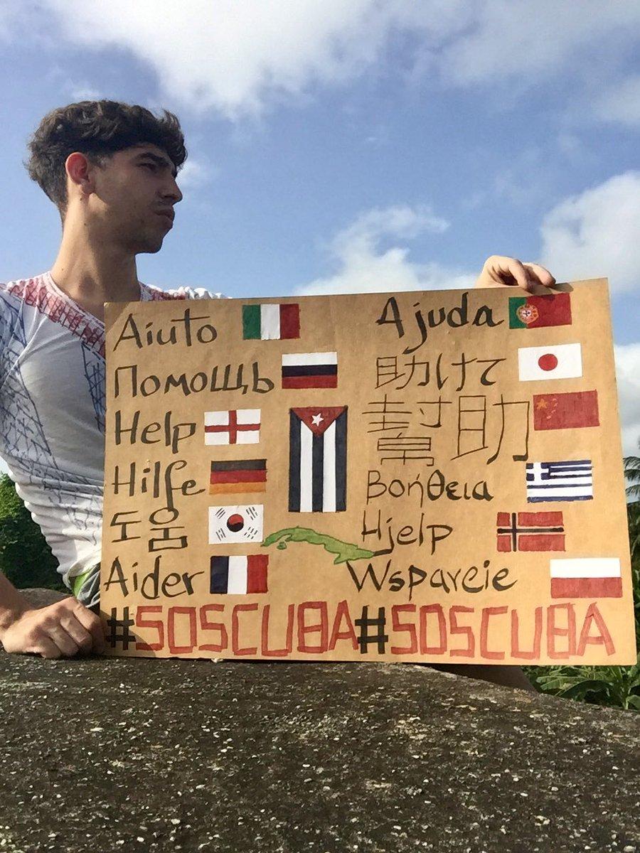 "Agustin Antonetti в Twitter: ""TODA CUBA ESTÁ EN LAS CALLES. ES HISTÓRICO. SE PERDIÓ EL MIEDO. VIVA LA LIBERTAD #SOSCuba 🇨🇺🙏🏻"""
