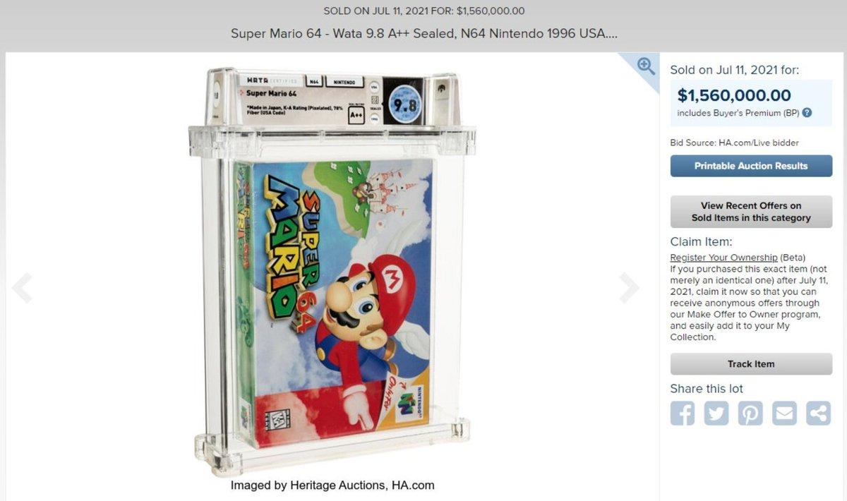 @Nintendeal's photo on Super Mario 64