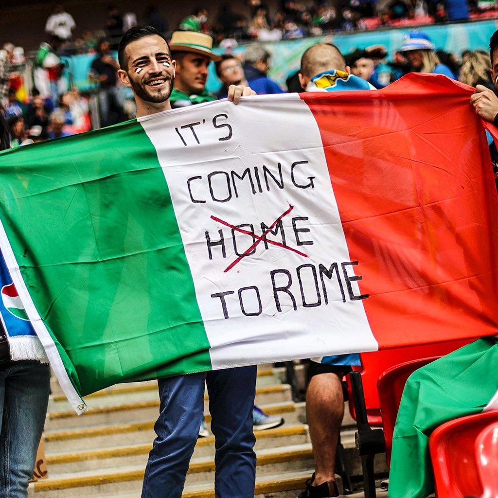 Италия - чемпион Европы 2021