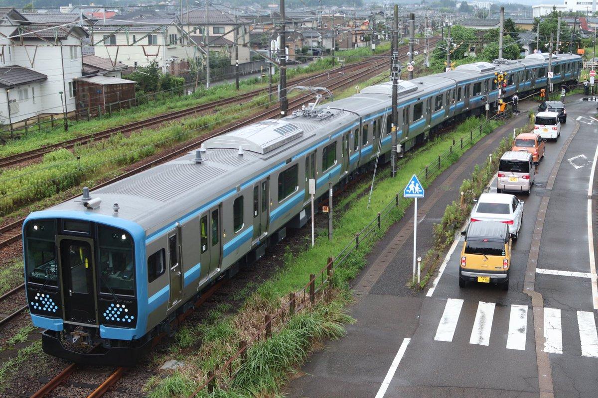 【相模線新型車両】E131系500番台横コツG-01編成出場 初の試運転