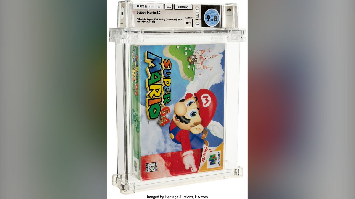 @CP24's photo on Super Mario 64