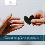 Image for the Tweet beginning: Le don manuel est une