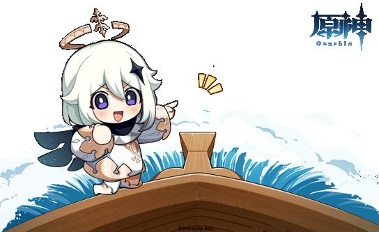 【イベント予告】 旅人さん、未知なる航路への準備は整いましたか?  とある船が出航しようとしているようです。一体誰の船なんでしょうか? ーーおや、船に見慣れた人影があるようです。  ※Webイベントがまもなく開催いたします。ぜひお楽しみに!  #原神 #Genshin