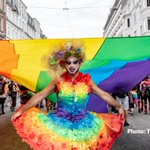Image for the Tweet beginning: LGBTI rights are #HumanRights💜   #Denmark