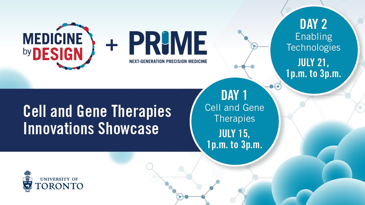 Looking forward to Day 2 on Wednesday, with speakers from @Excellthera, @aspectbiosys and #UofT! Register & learn more: https://t.co/igfIF4WcTI.