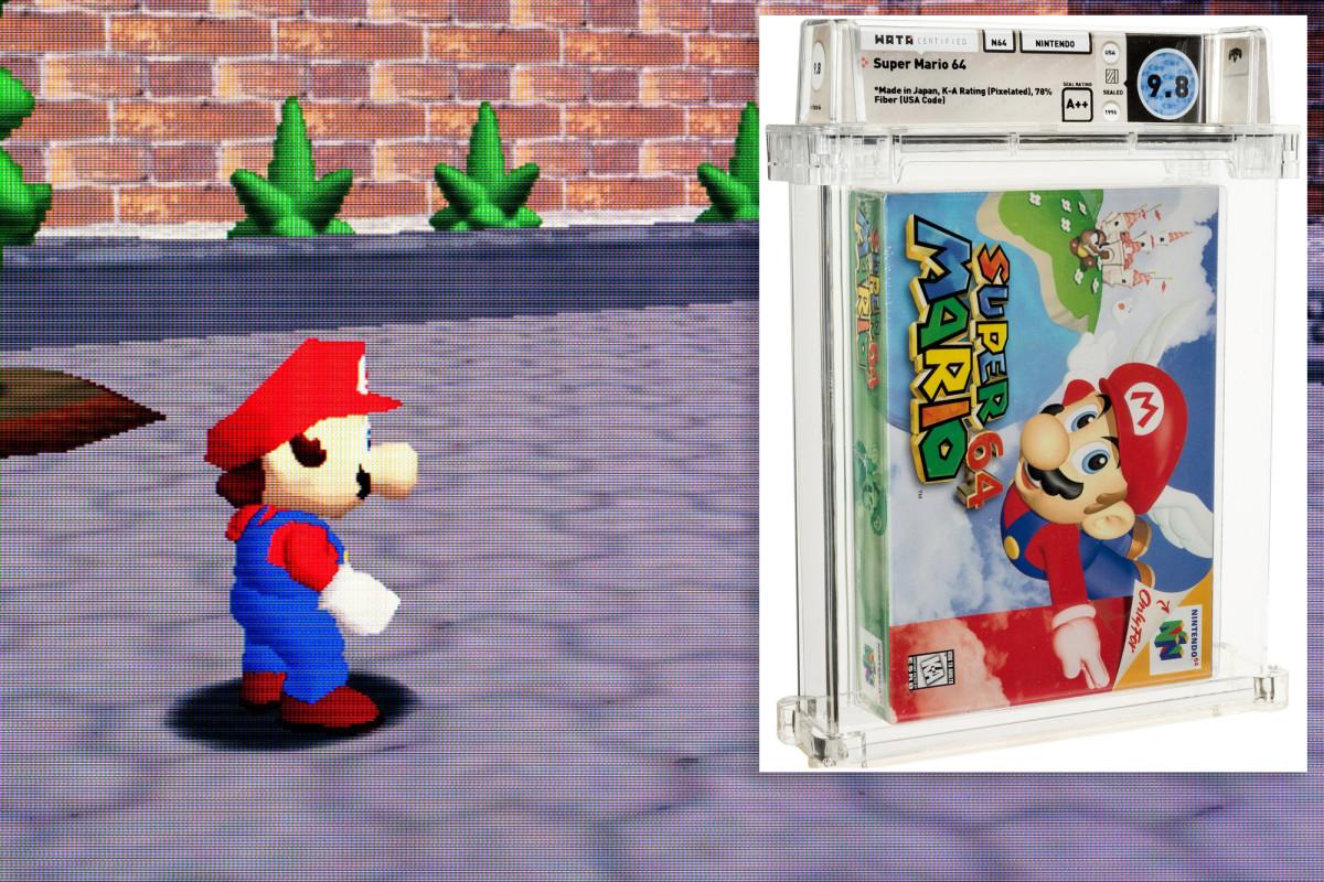 @nypost's photo on Super Mario 64