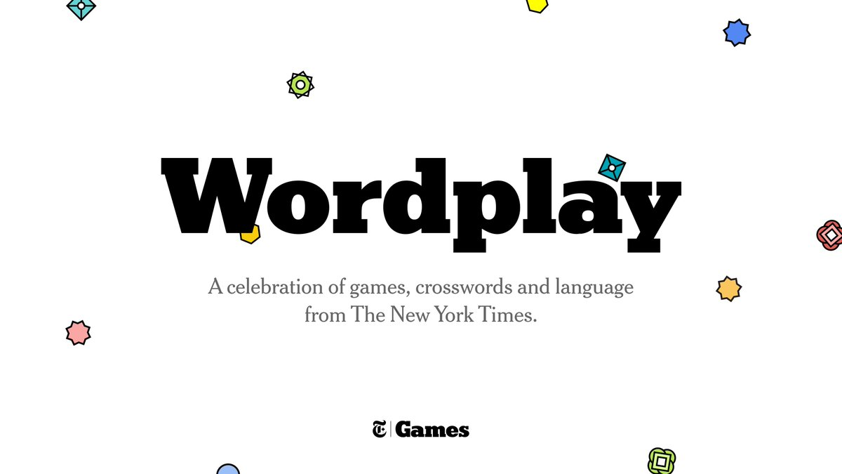 Tune in on Twitter at @NYTimesWordplay, Twitch at WordplayNYT or YouTube at WordplayNYT. 1 p.m. Eastern. Be there or be squares! https://t.co/kQalAoDagA