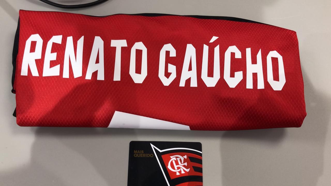 Camisa de apresentação de Renato Gaúcho