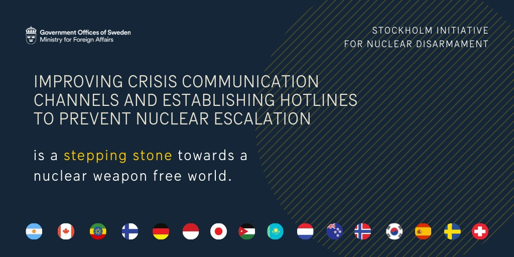 We are committed to progress on nuclear disarmament in view of #NPT #10RevCon and invite fellow States Parties to align with our 22 stepping stones. Learn more ➡️https://t.co/QI4Ynk3sgc https://t.co/wBOGrZ2B06