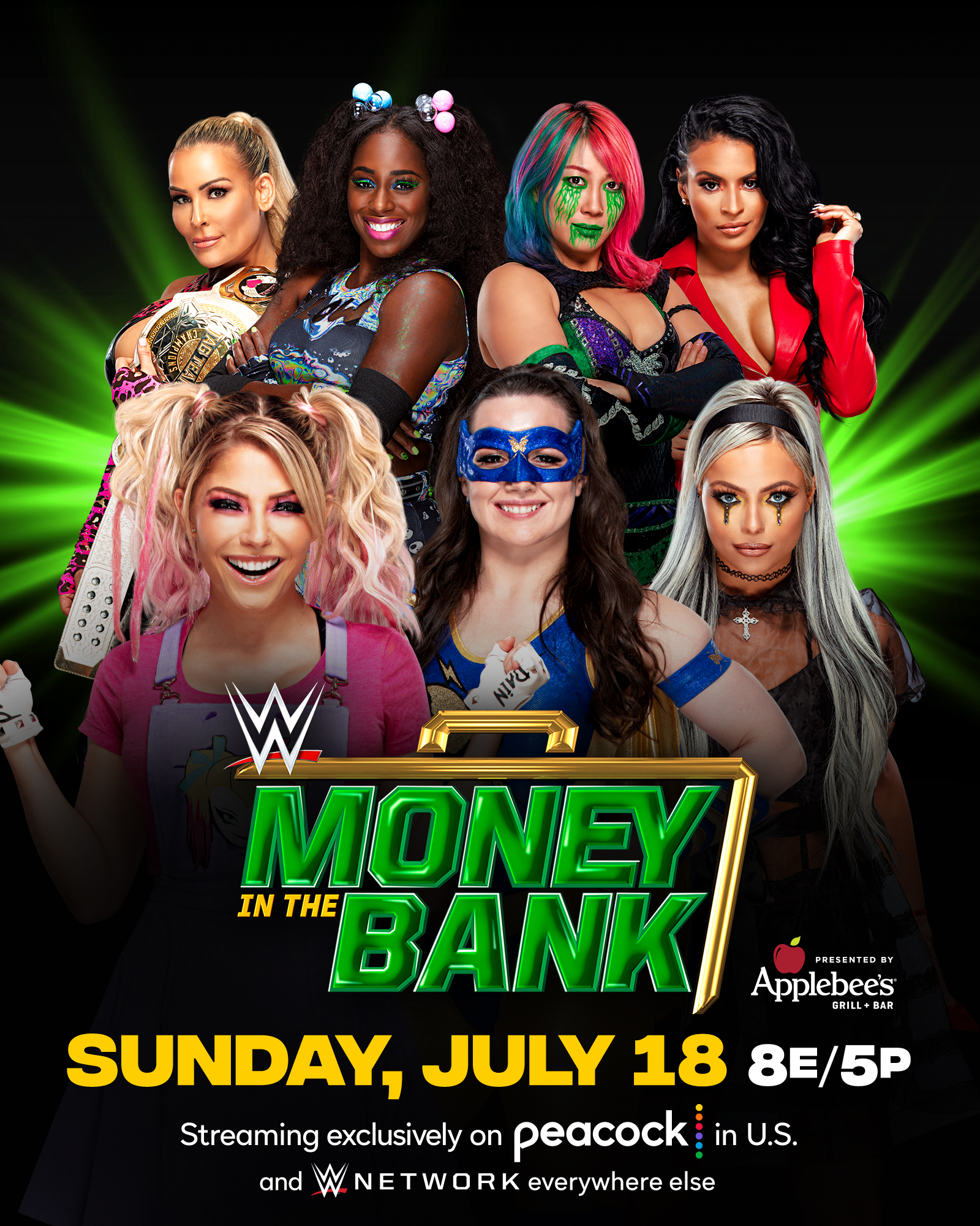 Money In The Bank 2021: WWE Announces New Title Match And Ladder Match Participant 1
