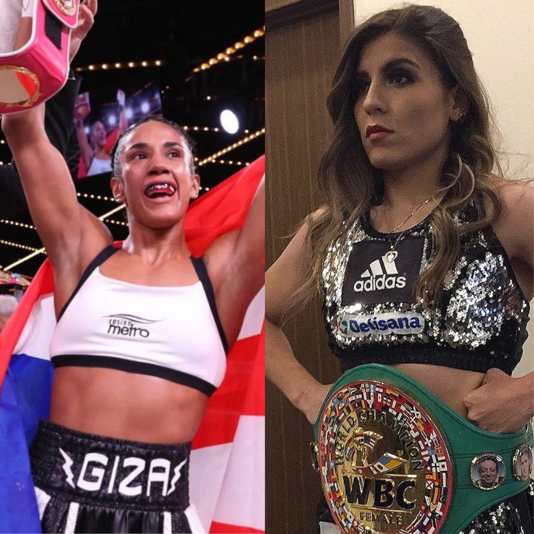 Amanda Serrano defenderá sus fajas mundiales CMB y OMB de las 126 libras en contra de la también campeona, pero súper gallo CMB, Yamileth Mercado.