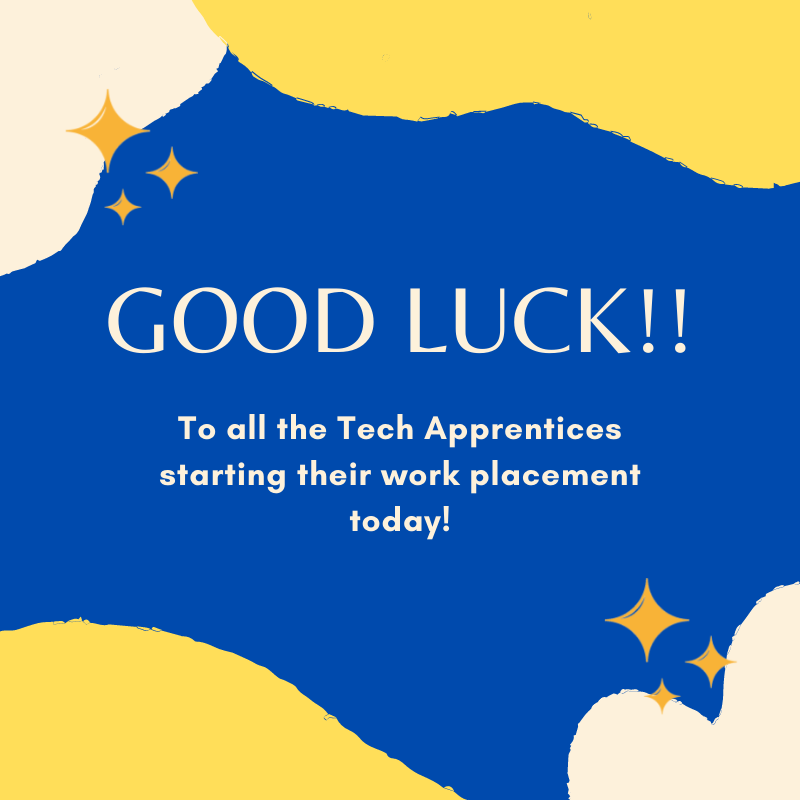 Best of luck to #CyberSecurity #TechApprentices starting their #workplacements  The Tech Apprentices have been placed with Avanade @Fingalcoco @Integrity360 @ESBGroup @westmeathcoco @wicklowcoco Redflare Mazars & Glen Dimplex.  Wishing the Apprentices & companies every success!!