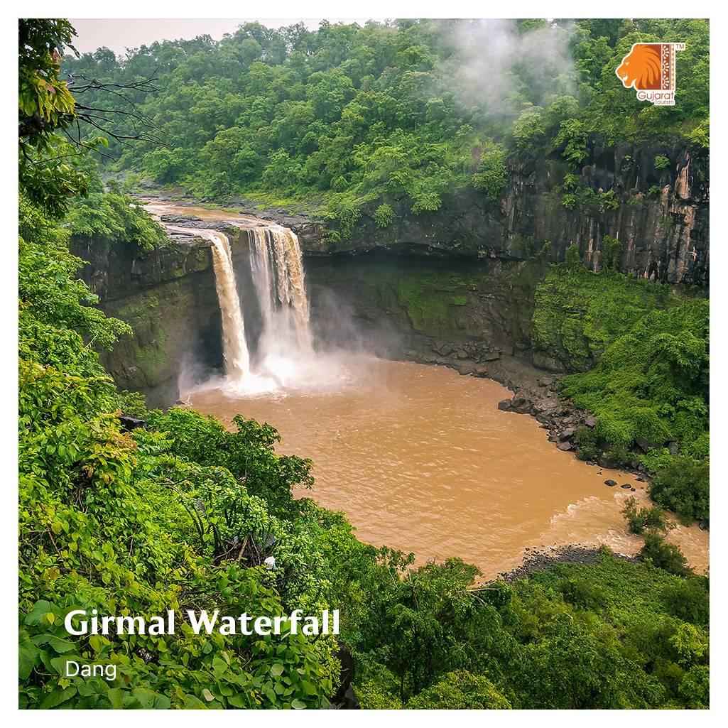 @GujaratTourism's photo on Waterfall