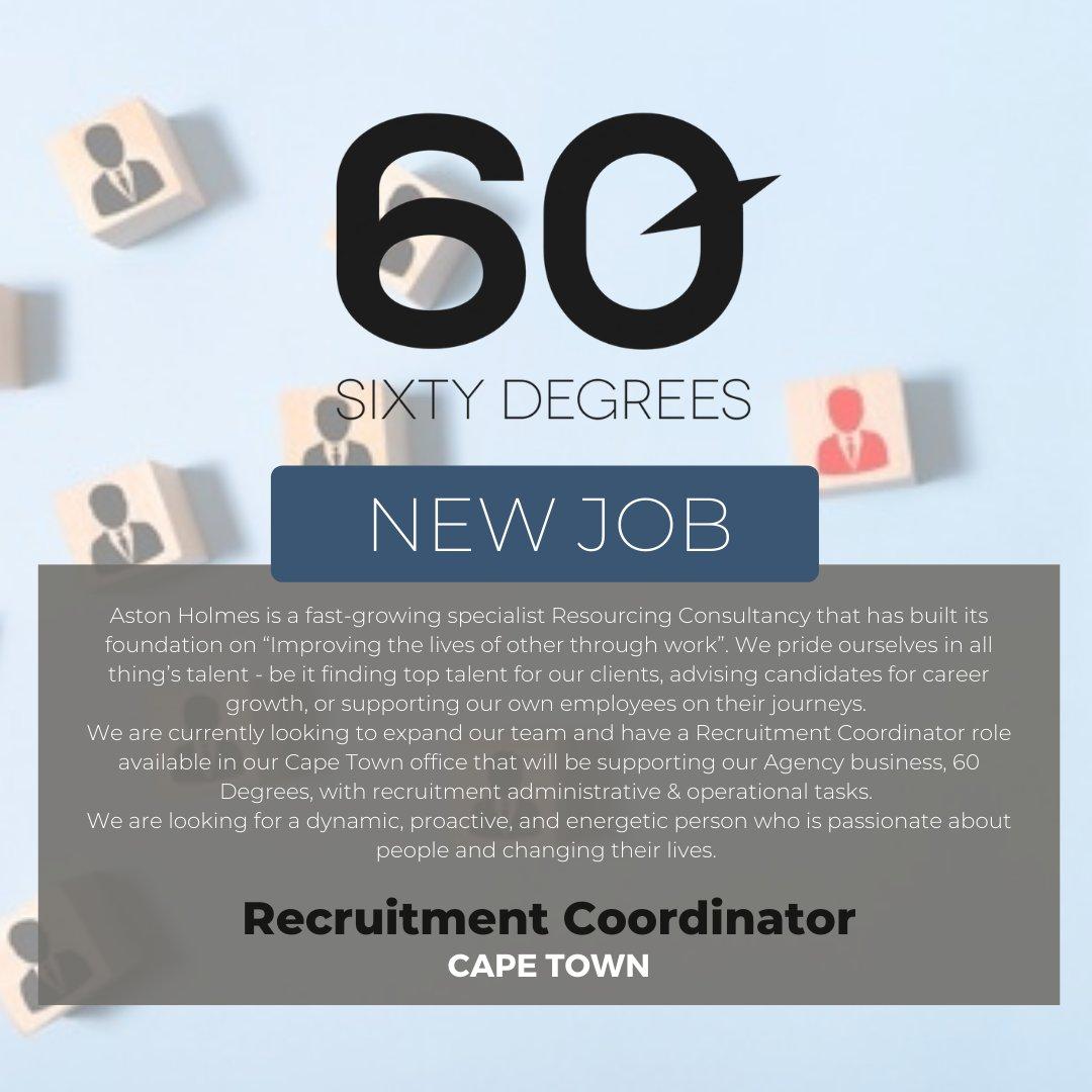 test Twitter Media - New #JobAlert - Recruitment Coordinator in Cape Town  https://t.co/Hu1XD6WCE9 https://t.co/l42Fyn3ZDe