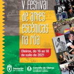 Image for the Tweet beginning: V FESTIVAL RÚA EXT-CÉNICA  