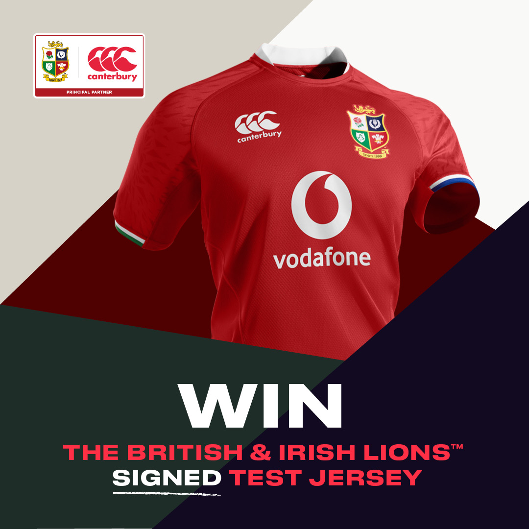 #WIN a @lionsofficialsquad signed Test Jersey! 🦁 Get your hands on this epic piece of memorabilia for #SA21. How to enter... 1️⃣ FOLLOW @canterburynz 2️⃣ RT & LIKE this post Competition closes at midnight on 18/07/21. T&Cs at canterbury.com #MadeFromAll
