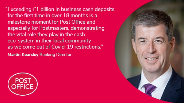 Following #SaveOurCash Day last week, our June cash tracker shows a record £2.2 billion in cash was deposited at our branches. Over £1 billion was business deposits. Our branches are open late and many at weekends providing a convenient location to deposit much needed takings https://t.co/GgVzrqQJQZ