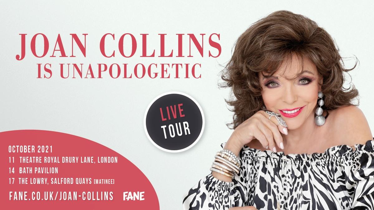Joan Collins Joancollinsdbe   Twitter