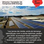 Image for the Tweet beginning: 🌻 La demarcació de Lleida