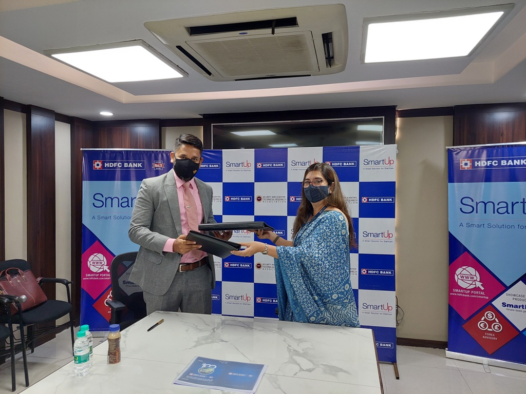HDFC Bank signs MoU with 'SASTRA' incubator of Gujarat based Raksha University