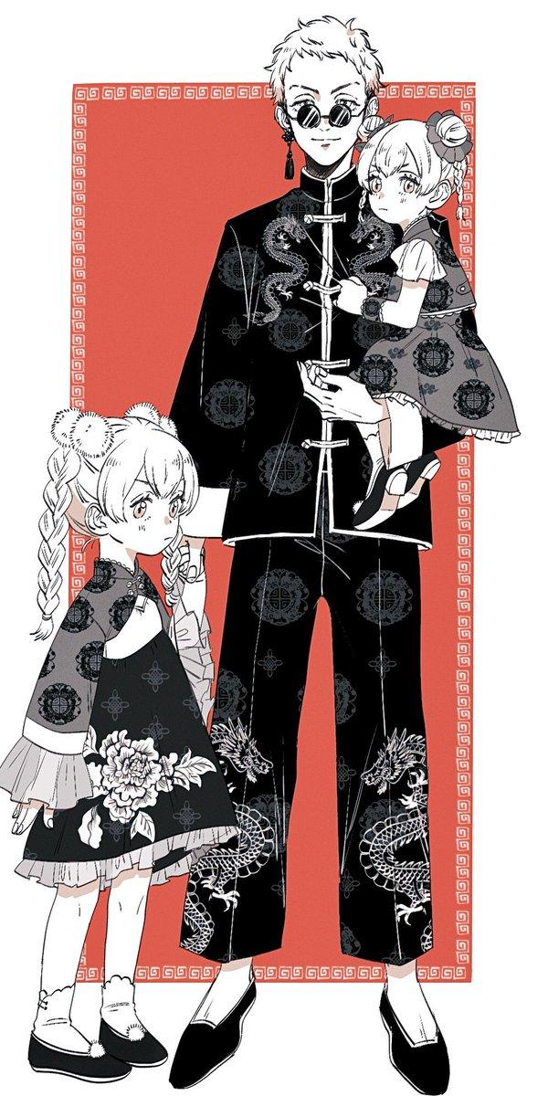 三ツ谷兄妹 ⚠︎チャイナ服捏造   #東卍FA
