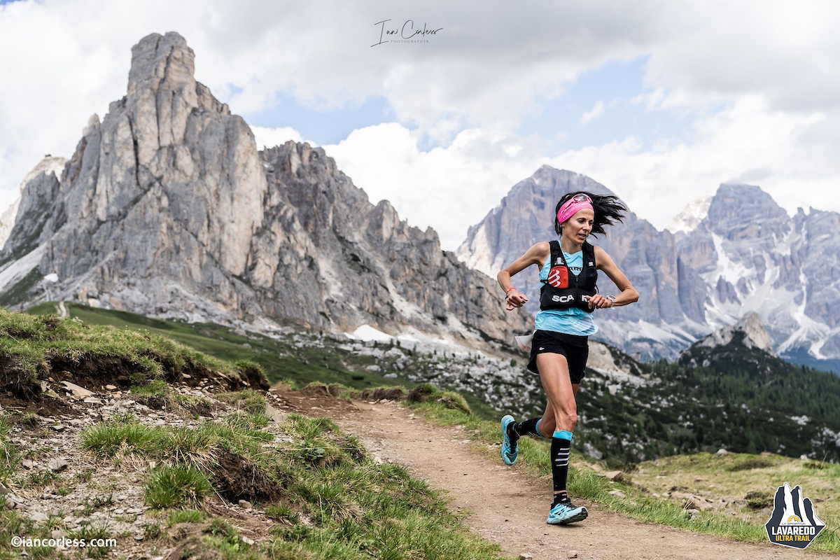 #CortinaTrail, Elisa Desco on her way to victory!