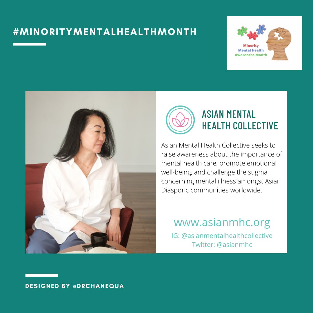 I shared this one for #AsianPacificAmericanHeritageMonth, but I want to make sure it's in this group, too. The @asianmhc includes therapist directories in the US & Canada. #MentalHealthMatters https://t.co/USEwuVv87d