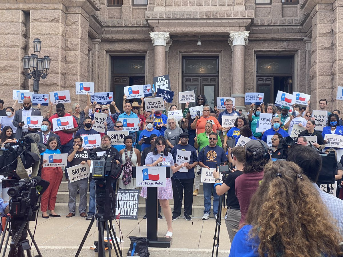 We are hard at work to protect your right to vote. Thank you to all the Texans who showed up to stand against voter suppression. We will do whatever it takes to fight for democracy. #txlege #SupressionSession #LetThePeopleVote https://t.co/pl95P0jT1q