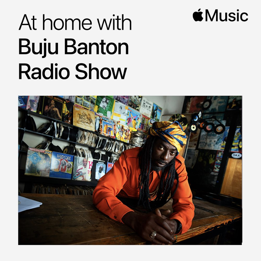new #AtHomeWithAppleMusic coming up in 1 hour with @bujubanton.Listenon @applemusichttps://t.co/Urz4A9EZcD https://t.co/xNYqC1pJMH