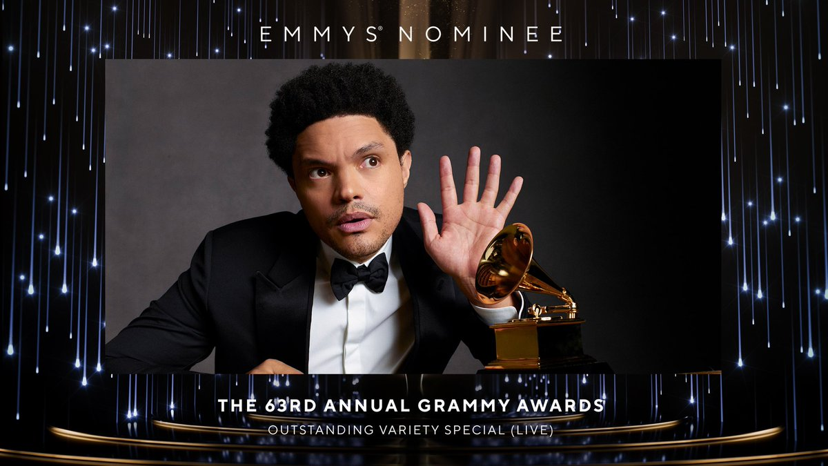 Congratulations to the  @RecordingAcad for their Emmy Award® nomination for Outstanding Variety Special (LIVE).🏆 https://t.co/TzpYNWxBmf