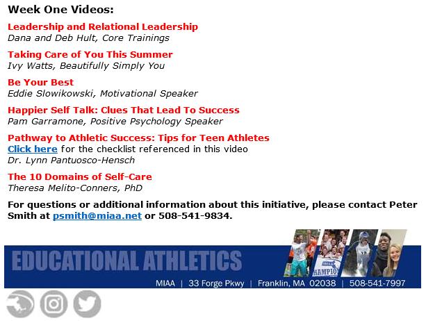 MIAA - week 1 at The Hub (video series)