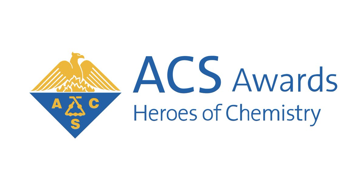 Thank you @AmerChemSociety for recognizing our chemists among this year's #HeroesOfChemistry for their innovative work that interfaces chemistry and medicine. https://t.co/eLqZRz1Dwx