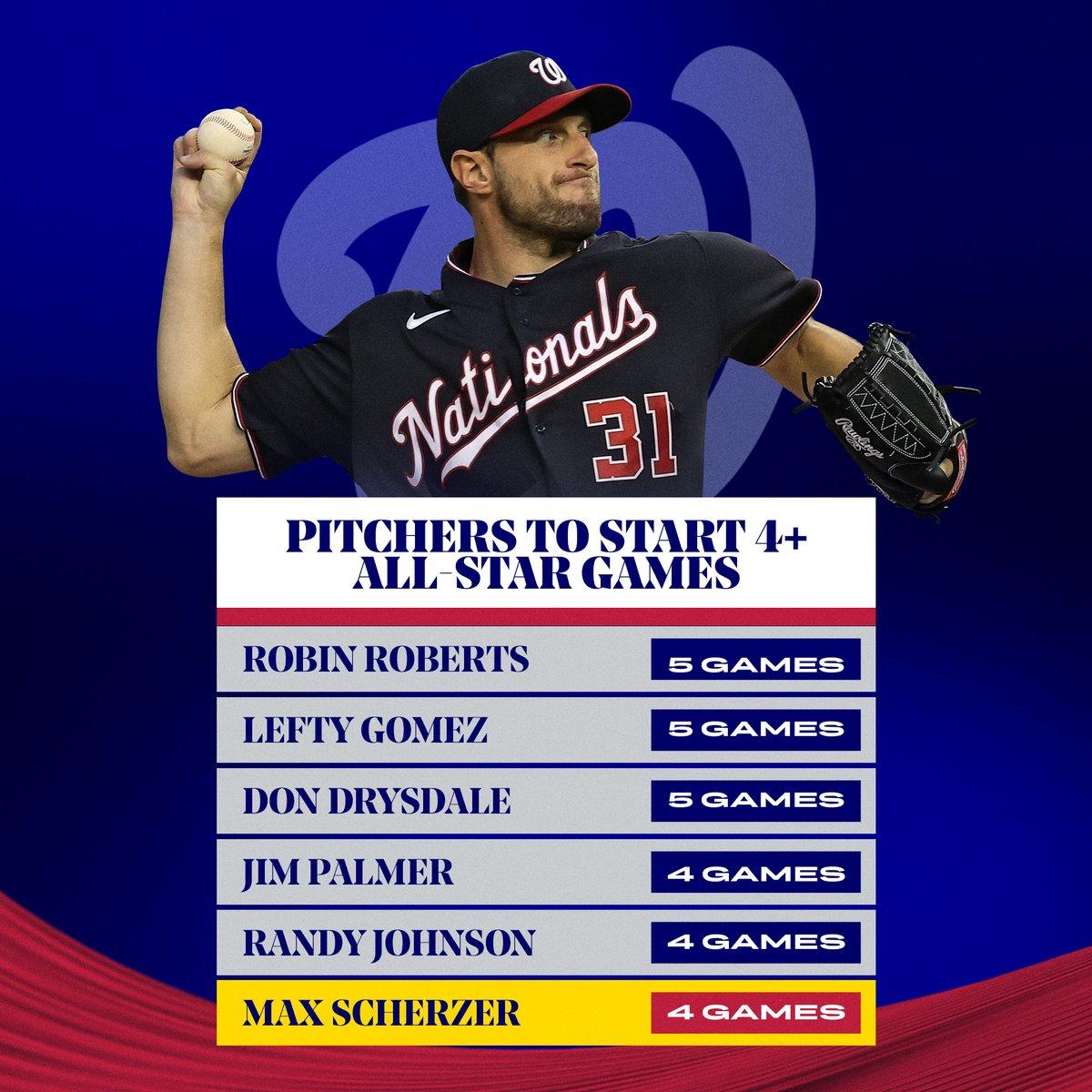 @MLBStats's photo on Max Scherzer