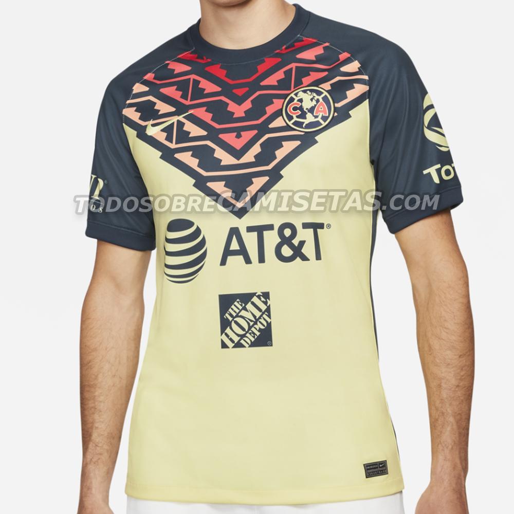 Jersey de Club América 2021-22 – FILTRACIÓN