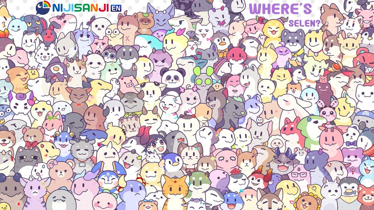 Let's play a game :)  みんな私のこと見つけられるかな?