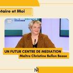 Image for the Tweet beginning: Maître Christine Bellon-Besse, nous présente