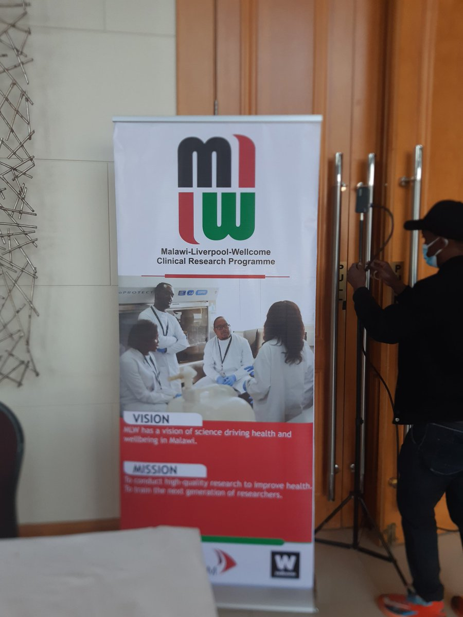 Setting up our pavilion for the Malawi Medical Laboratories ISO 15189:2012 SADCAS Accreditation Award Ceremony which will be presided over by the Minister of Health.   We are happy that we got international accreditation for our lab, and for the recognition from @health_malawi https://t.co/Vb8ZYuPBJX
