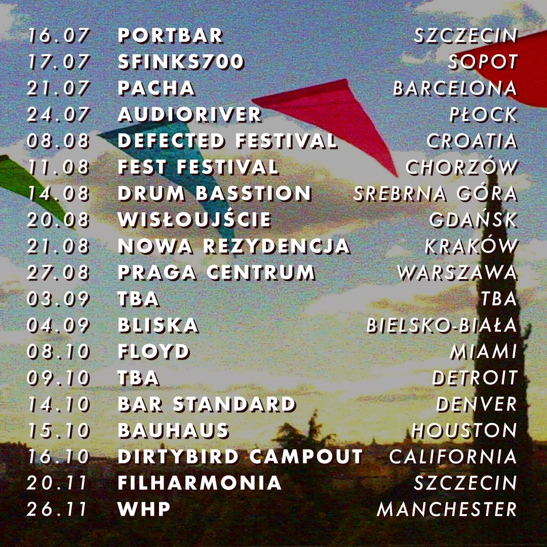 Upcoming dates. Exited 10/10