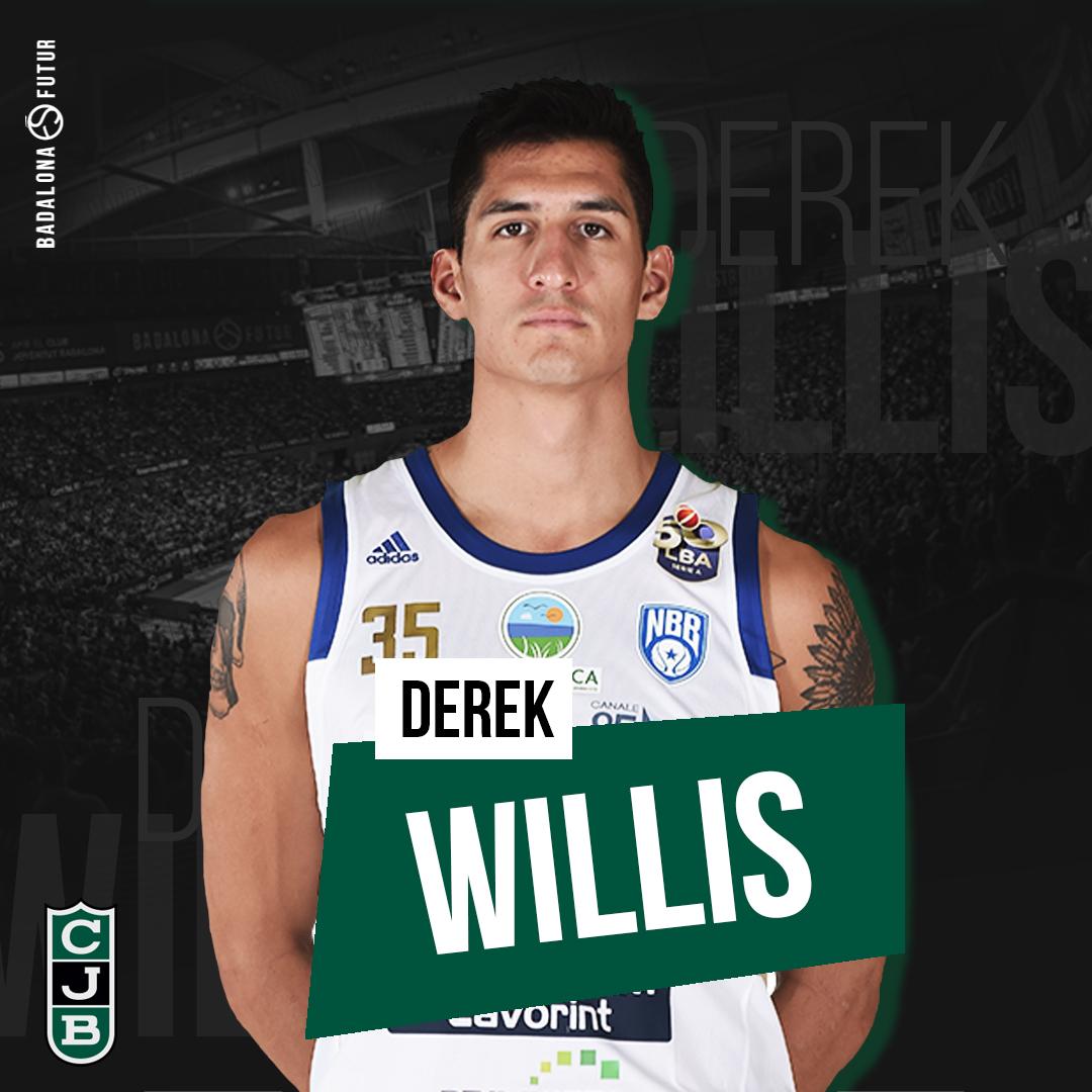 Derek Willis firma ufficialmente con Joventut Badalona