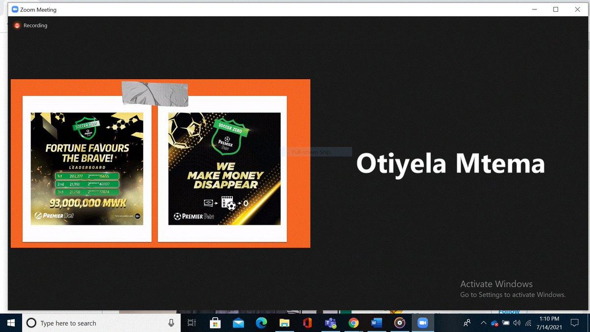 Otiyela Mtema: counteradvertising, challenging gambling campaigns. #SSA #Gambling #PublicHealth #Conference @Otiyela @Chris_Bunn @VirveMarionneau @MEIRU_MALAWI @globalhealthbot https://t.co/3Qh94U7I8T