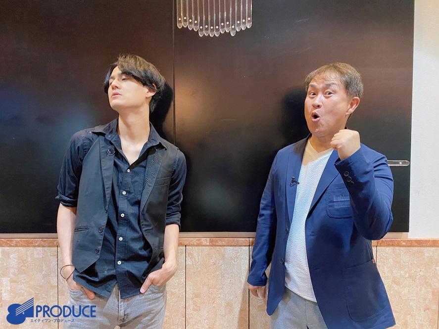 #武内駿輔 が出演いたました、TBS「#水曜日のダウンタウン」をご覧下さった皆様、誠に有難うございました! 神奈月さんのご指導の下、『声優モノマネ代理戦争!』にて見事、優勝いたしました  少しでもお楽しみいただけたなら幸いです!  記念に神奈月さんと お写真 撮らせていただきました!