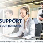 Image for the Tweet beginning: At Telephone Europe, our Business