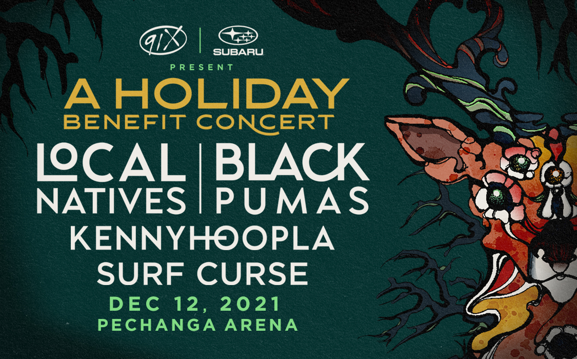 We are playing a holiday benefit concert in San Diego with @BlackPumasMusic and more! Tickets go on sale this Saturday https://t.co/2dSVpGik5M https://t.co/lDR19xAdfQ