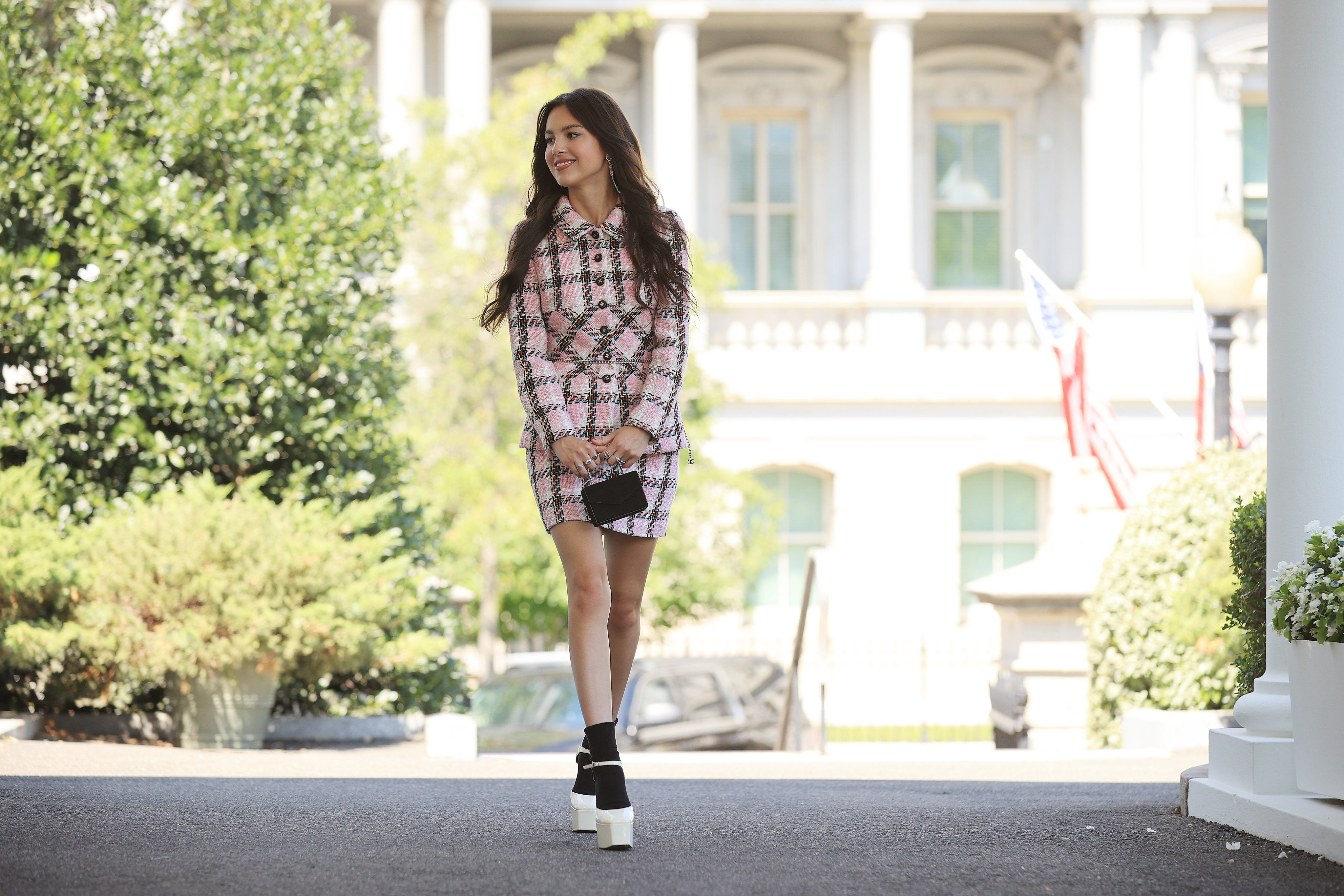 Olivia Rodrigo ke Gedung Putih, Ajak Para Remaja Untuk Vaksin!