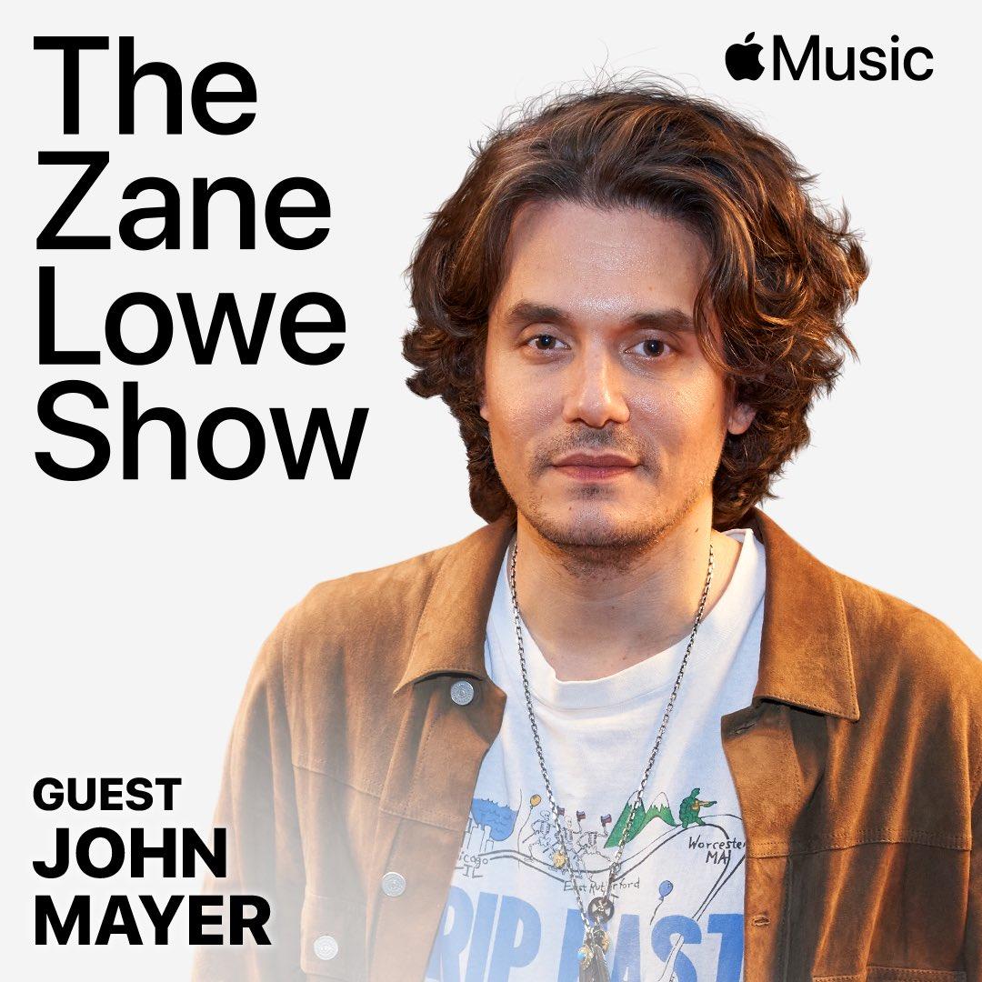 ".@JohnMayer talking ""Sob Rock"". coming at you in one hour on @AppleMusic https://t.co/Urz4A9EZcD https://t.co/Dvmm9JW3QU"