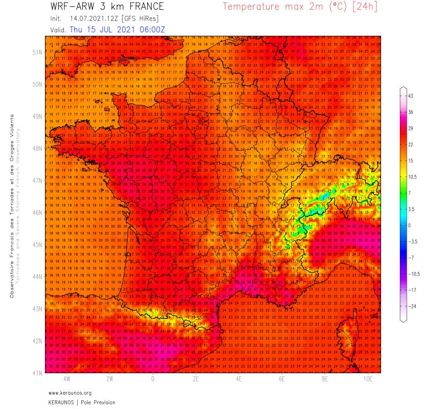 Progressivement, les conditions météo vont s'améliorer, d'abord dans l'ouest puis dans l'est avec retour de la chaleur sur l'ouest, des fortes chaleurs dans le sud-est dès demain avec mistral et tramontane.